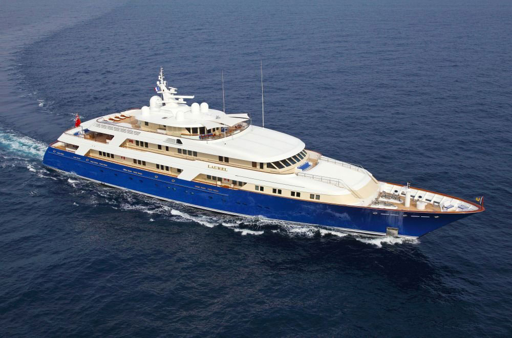 Laurel Superyacht For Sale With Fraser Yachts EXtravaganzi