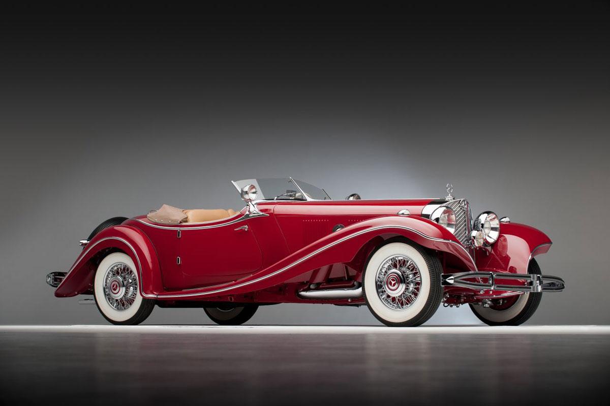 3 76 Million 1935 Mercedes Benz 500 K Roadster