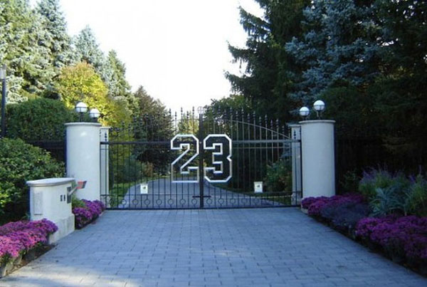 Michael Jordan's Chicago-area estate
