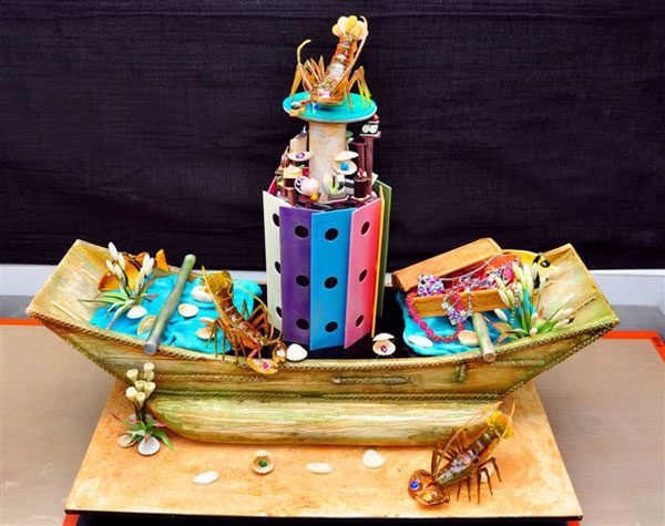 Pirate's Fantasy - $35 million Sapphire Studded Cake