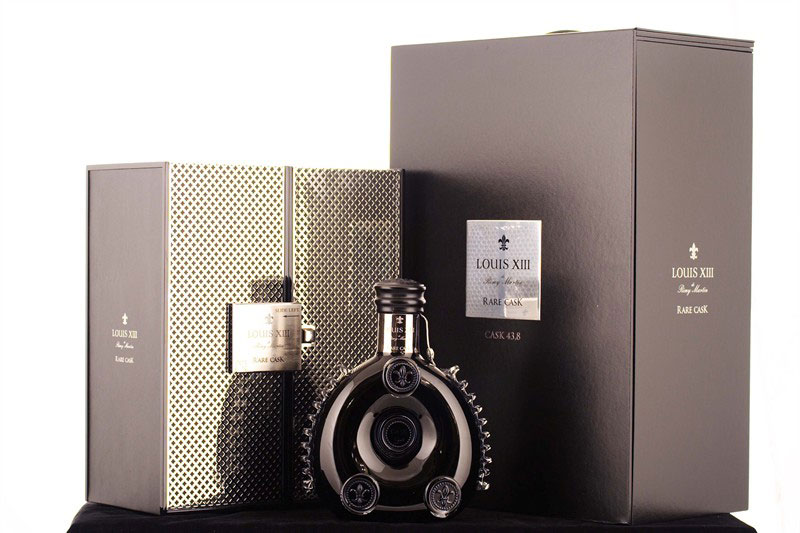 Bottle Of REMY MARTIN LOUIS XIII Rare Cask Cognac Broke a Record in Hong Kong