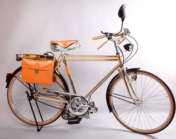 Tomassini – Italian gold plated Bicycle Goes Under the Hammer