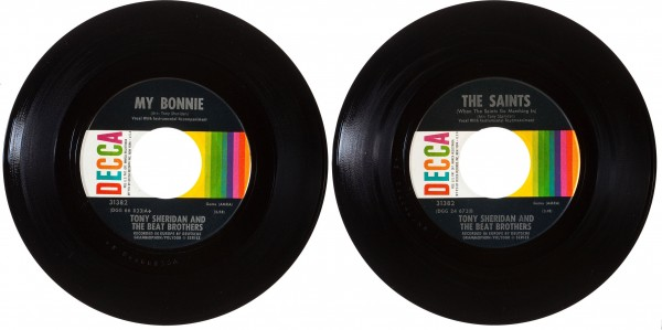 US 45 Beatles Singles