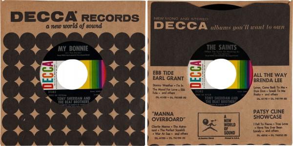 US 45 Beatles Singles