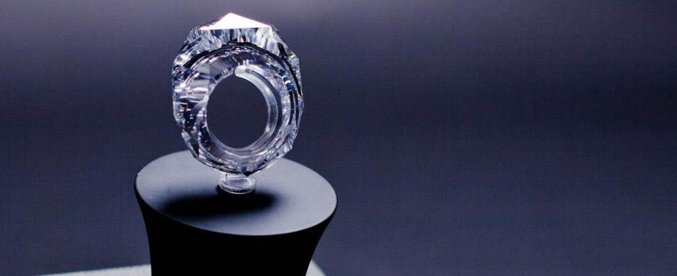 World's First All-diamond 150-carat Ring Worth $70 Million