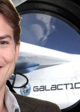 Ashton Kutcher As 500th Astronaut on Virgin Galactic