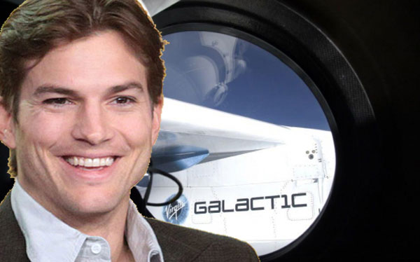 Ashton Kutcher heading to space on Virgin Galactic