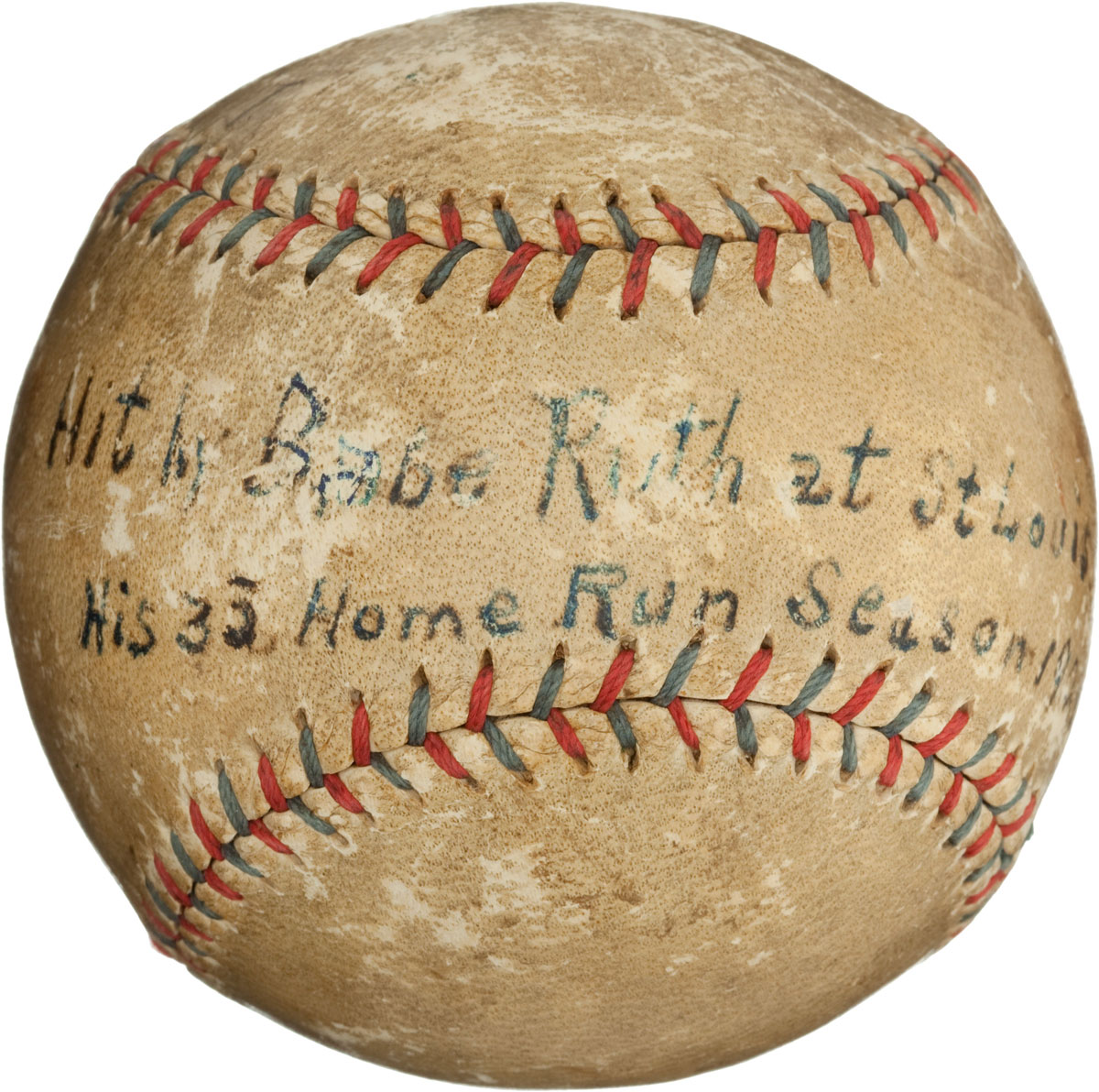 1921 Babe Ruth Home Run Baseball Could Fetch $50 000 At