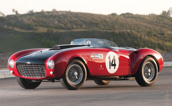 1953 Ferrari 375 MM Spider by Pinin Farina