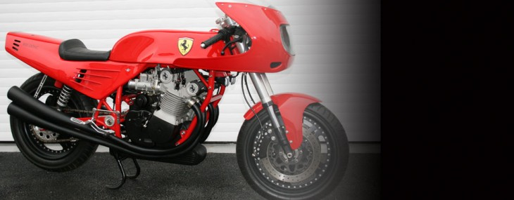 1995 Ferrari 900cc Motorcycle by David Kay Engineering