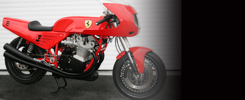 World&#8217;s Only Ferrari Motorbike Could Fetch $160,000 At Bonhams Auction