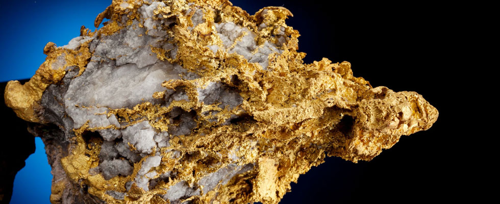 70+ ounce Gold in Quartz nugget