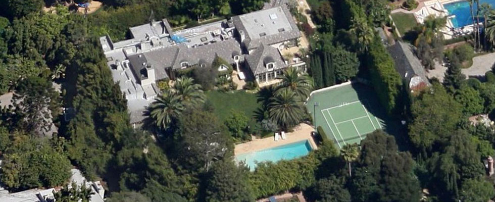 9425 Sunset Blvd - Madonna's $28 Million Beverly Hills Mansion