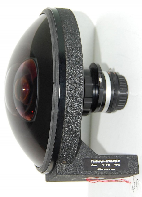 A Rare 1970s Nikkor 6mm f/2.8 Fisheye Lens
