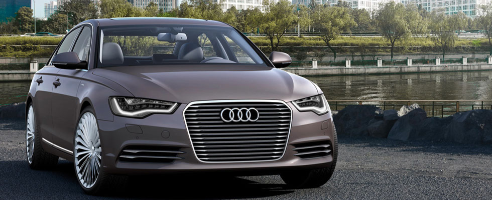 Audi A6 L e-Tron Plug-in Hybrid Sedan Unveiled at Beijing Auto Show
