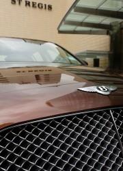 Bentley Contonental Flyng Spur outside The St Regis Singapore