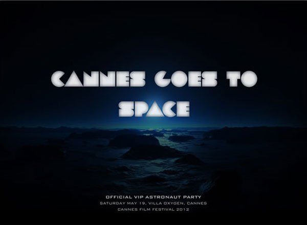 Cannes Goes to Space - VIP Astronaut Party during Cannes Film Festival