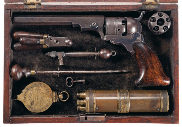 Colt No. 3 Belt Model Paterson Revolver