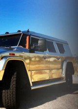 Dartz's Gold Aladeen Edition Prombron Approved by Pamela Anderson For $750,000