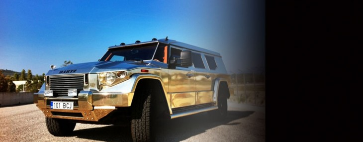 Gold Aladeen Edition Prombron by Dartz's