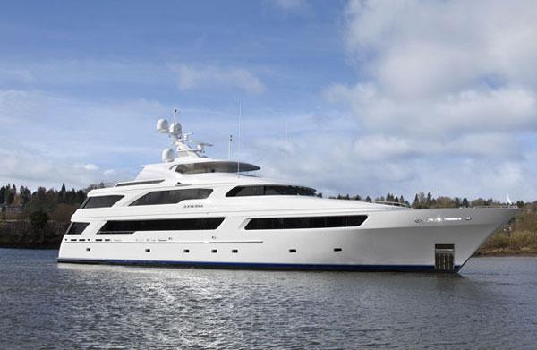 Superyacht Arianna by Delta Marine
