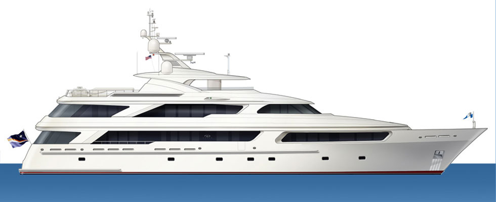 Delta&#8217;s Superyacht Arianna &#8211; World&#8217;s Largest All-composite Motoryacht