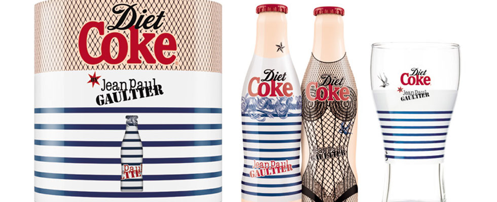 Diet Coke Bottles by Jean Paul Gaultier