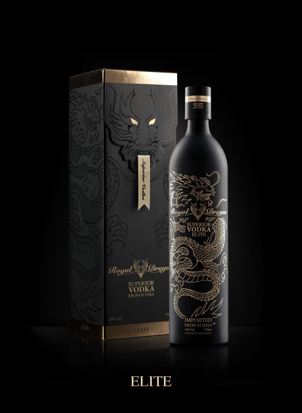 Royal Dragon Superior Vodka Elite