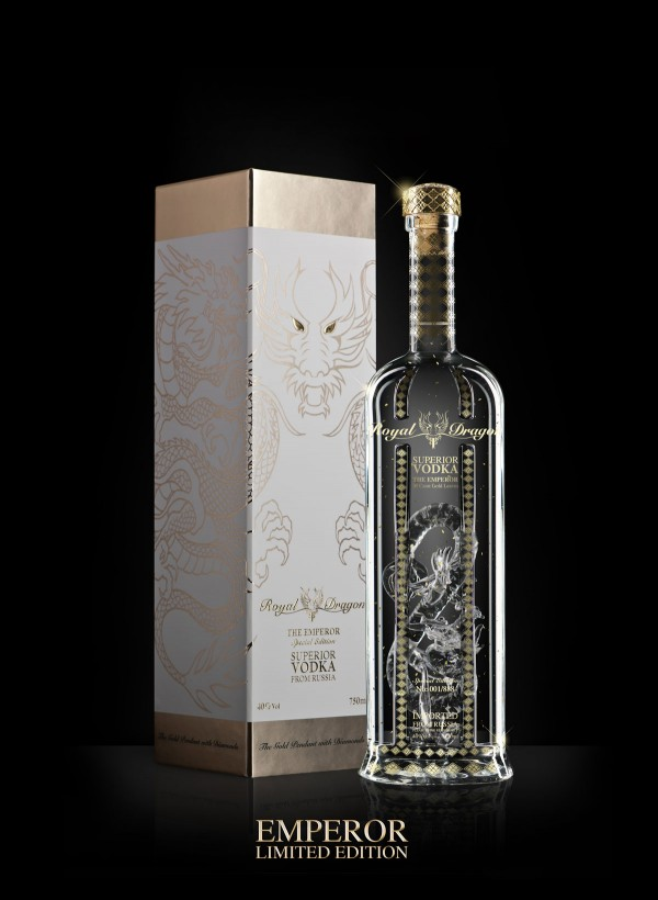 Royal Dragon Superior Vodka Emperor