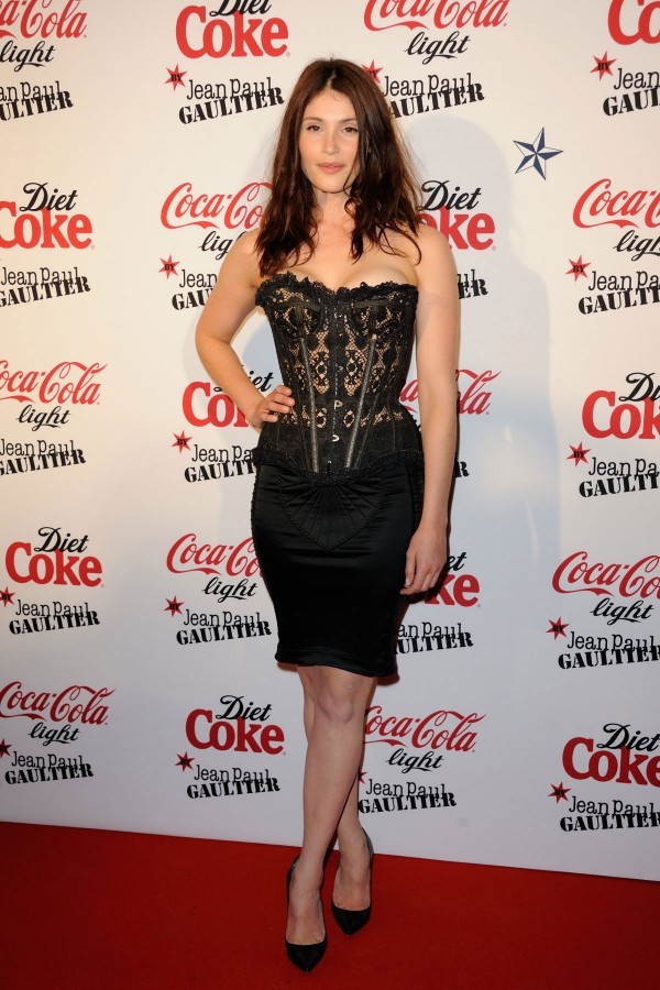 GEMMA ARTERTON at New Coca Cola Light Bottle Designed By Jean Paul Gaultier Launch Party