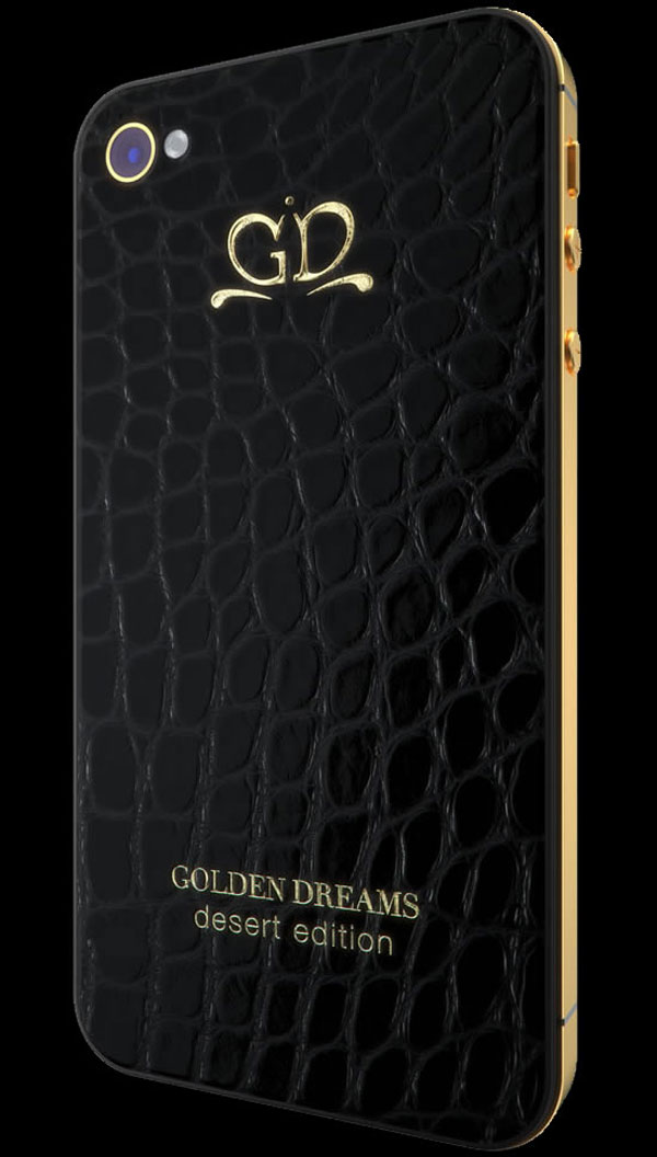 Gold Dream iPhone Desert Edition