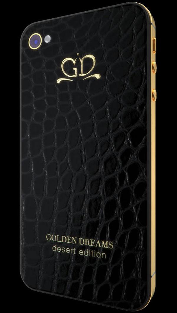 Gold Dream iPhone Desert Edition