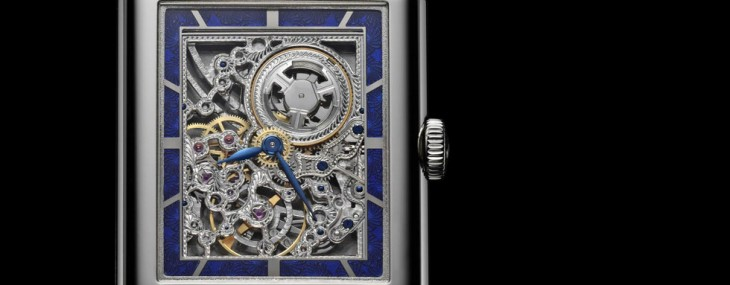 JLC Grande Reverso Ultra Thin SQ Openworked Movement