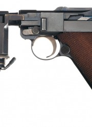 Hitler Guard Night Pistol Luger Semi Automatic Pistol
