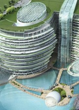 Intercontinental Shimao Shanghai Wonderland – Luxury Hotel Groundscraper