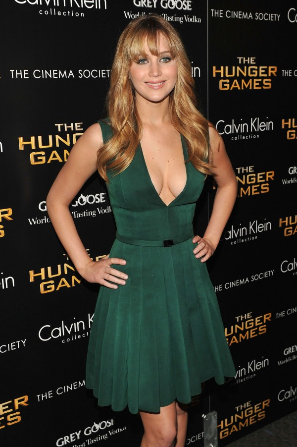 JENNIFER LAWRENCE at The Hunger Game Premiere in New York