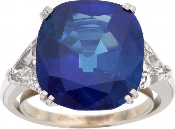 Kashmir Sapphire Ring