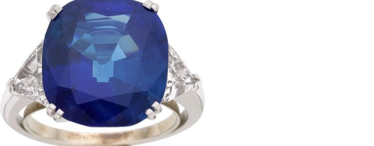 World's Rarest Kashmir Sapphire Ring Could Fetch $250,000 at Heritage Auctions