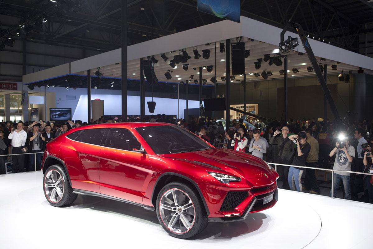 Lamborghini Urus SUV Concept Unveiled at Beijing Motor Show  eXtravaganzi