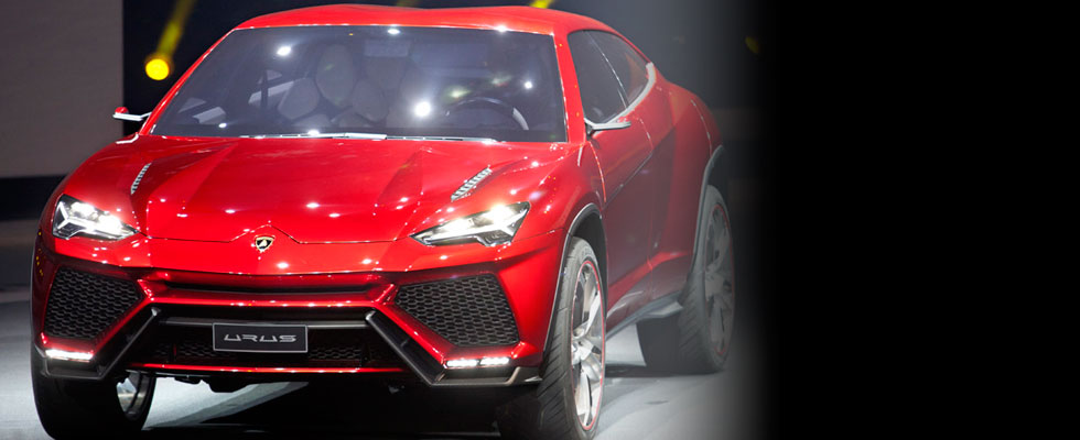 Lamborghini Urus SUV Concept Unveiled at Beijing Motor Show