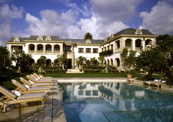 Bel air palace luxury le belvedere mansion on sale for for European mansions for sale