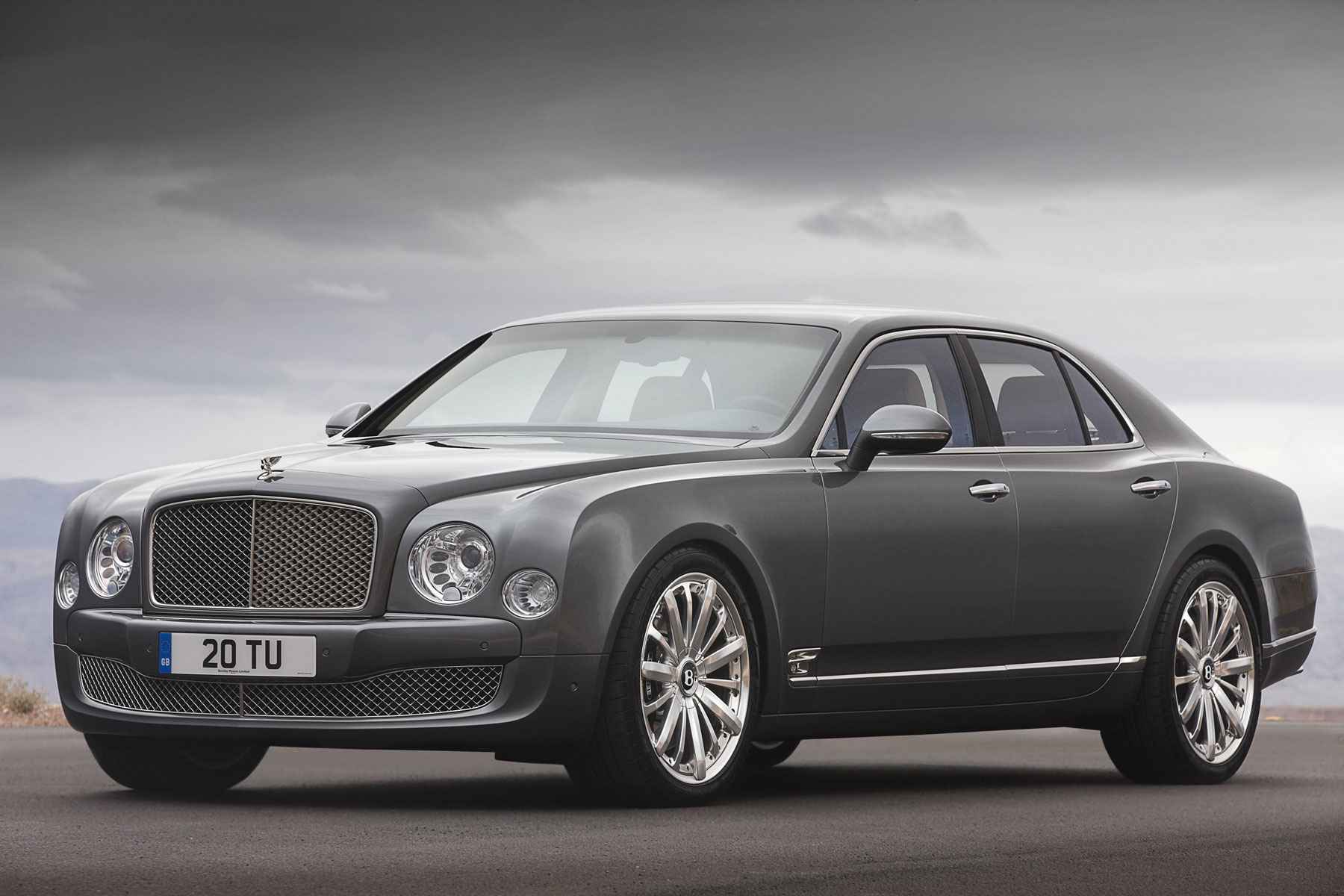Bentley Showcases New Mulsane Mulliner Driving Specification in