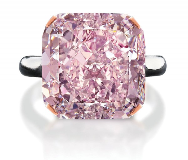 10-Carat Light Purplish Pink Diamond