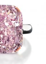 Rare 10-Carat Light Purplish Pink Diamond at Edmonton Jewelry Store