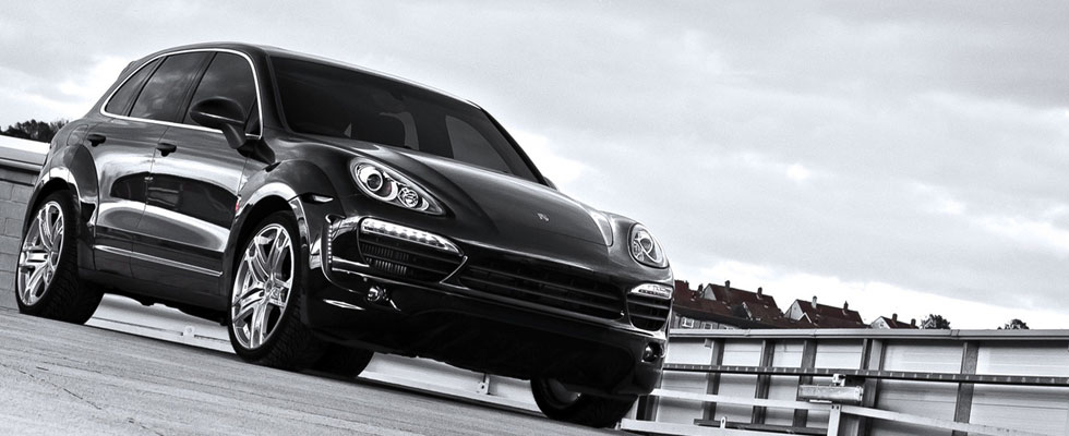 Porsche Cayenne Wide Track by Afzal Kahn