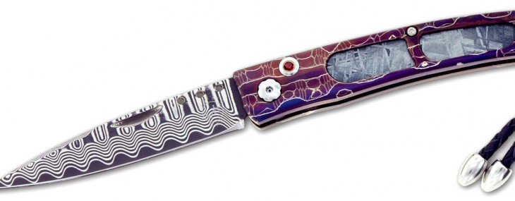 Relativity Meteorite Series Jewel Knife by William Henry