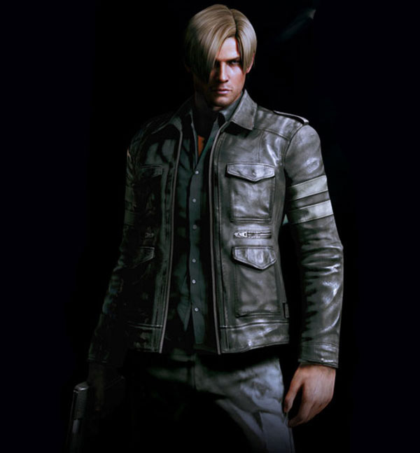 Resident Evil 6 Premium Edition - Leon Kennedy in Leather Jacket