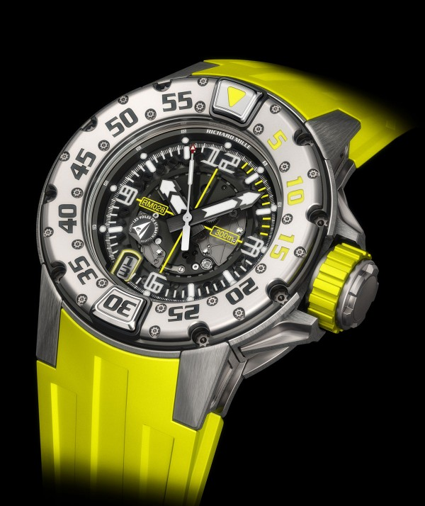 RM 028 Voiles de Saint Barth limited edition dive watch