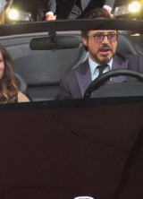 Robert Downey Jr Prance Around in Tony Stark's $9 Million Car at The Avengers Premiere