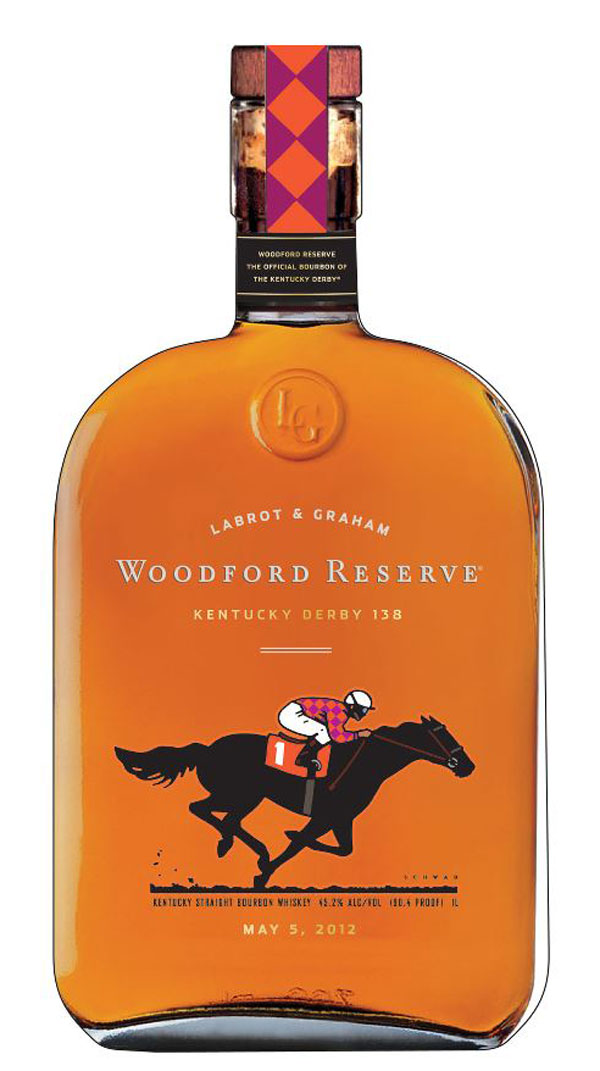 Woodford Reserve $1,000 Mint Julep Cup for 2012 Kentucky Derby